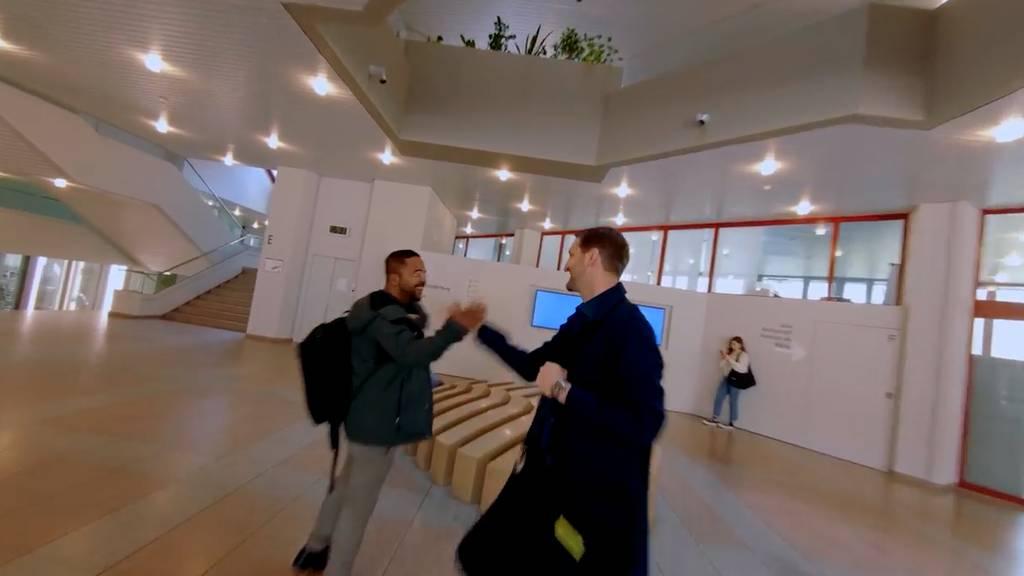 Spektakuläres Drohnenvideo durch die Akademie St.Gallen