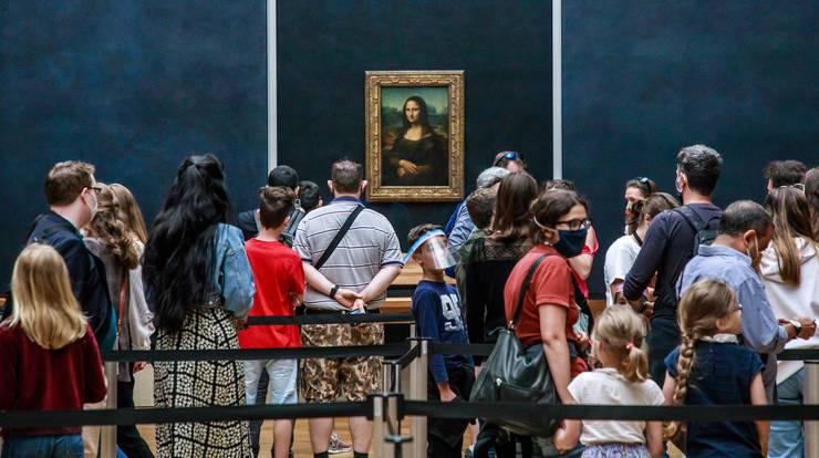 Wir sehen die Mona Lisa heute noch so, wie sie vor 500 Jahren auf der Staffelei von Leonardo da Vinci stand.