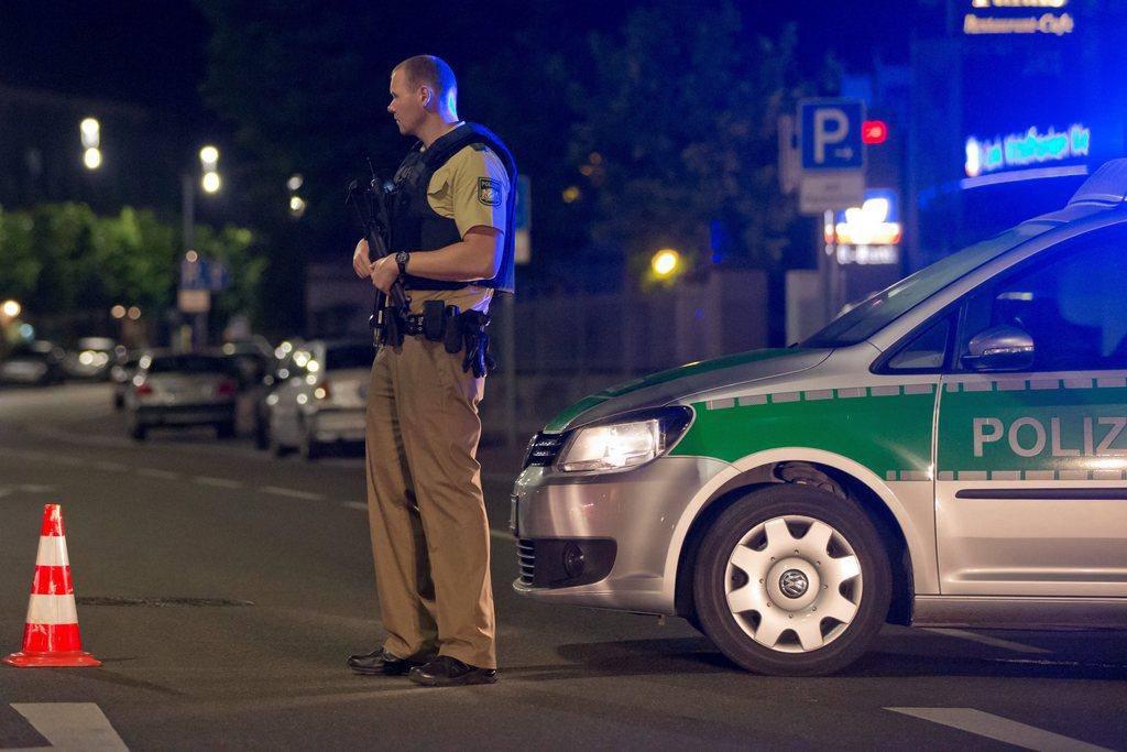 Anschlag in Ansbach (© Keystone)
