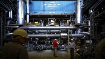 Besichtigung des Kernkraftwerks Beznau