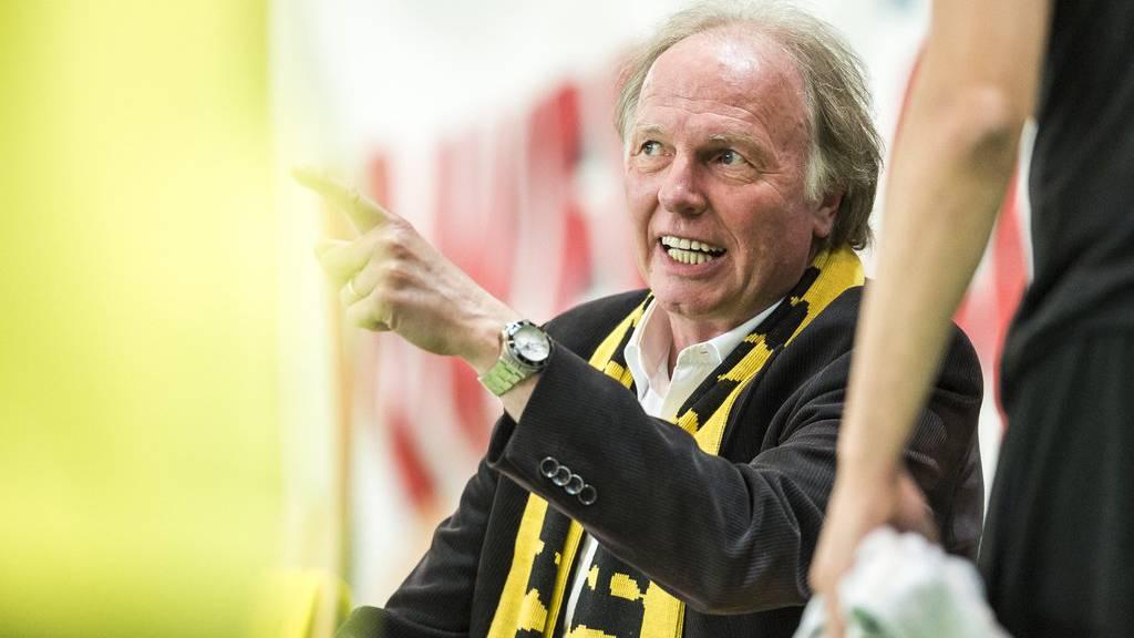 Dominique Gmür zieht seinen auf Ende Saison geplanten Rücktritt vor.