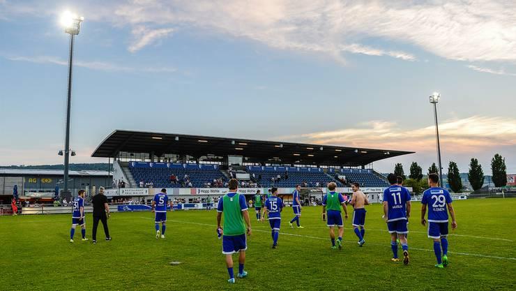Noch eine halbe Saison, dann heisst es im Wohler Stadion Niedermatten: Lichterlöschen für den Profifussball.