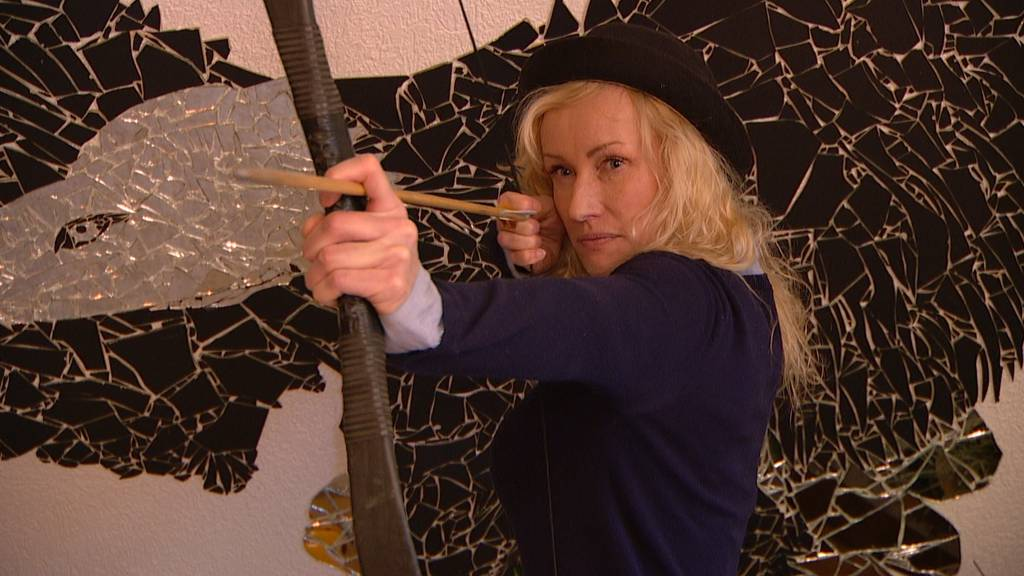 Stuntfrau Simone Bargetze