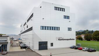 Eröffnung der Kantonsapotheke Zürich