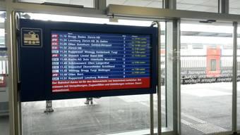 Auch im Aargau sind einige Bahnhöfe betroffen. (Symbolbild)