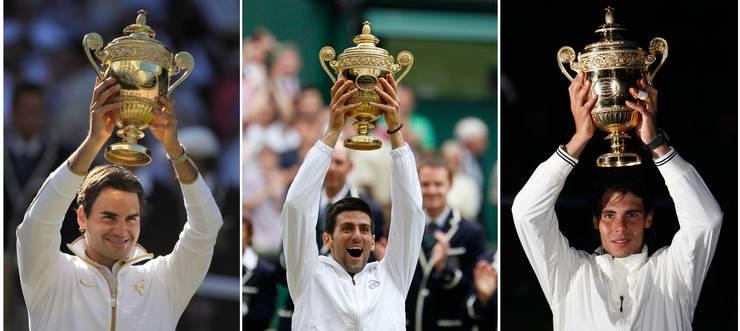 Roger Federer, Novak Djokovic und Rafael Nadal dominieren das Männertennis seit knapp zwei Jahrzehnten. Ausnahme, statt Normalfalls, sagt Günthardt.