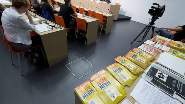 Komitee gegen das Epidemiengesetz in Bern
