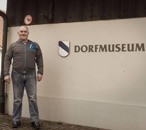Fritz Kummer, Landwirt und Vorsitzender der Museumskommission Rupperswil.
