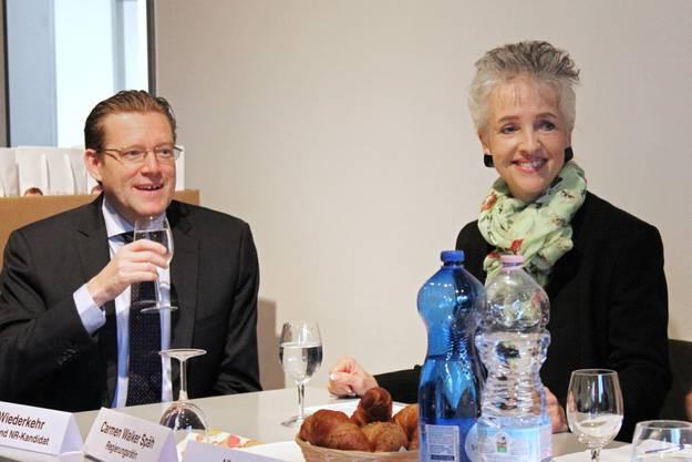Josef Wiederkehr und Carmen Walker Späh