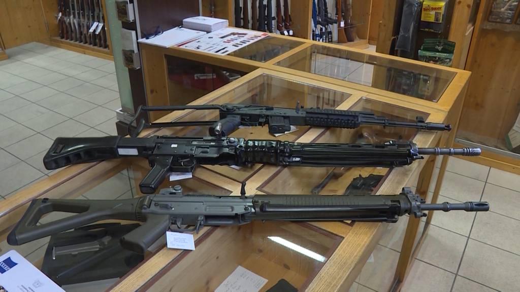 Offiziere gegen Waffenrecht