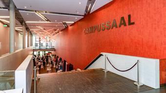Der Campussaal Brugg-Windisch wird rege von verschiedenen Parteien genutzt.