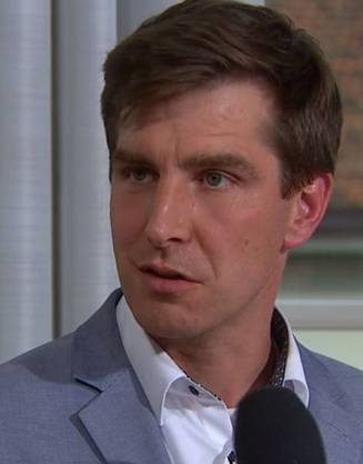 Daniel Hölzle, Präsident der Aargauer Grünen.