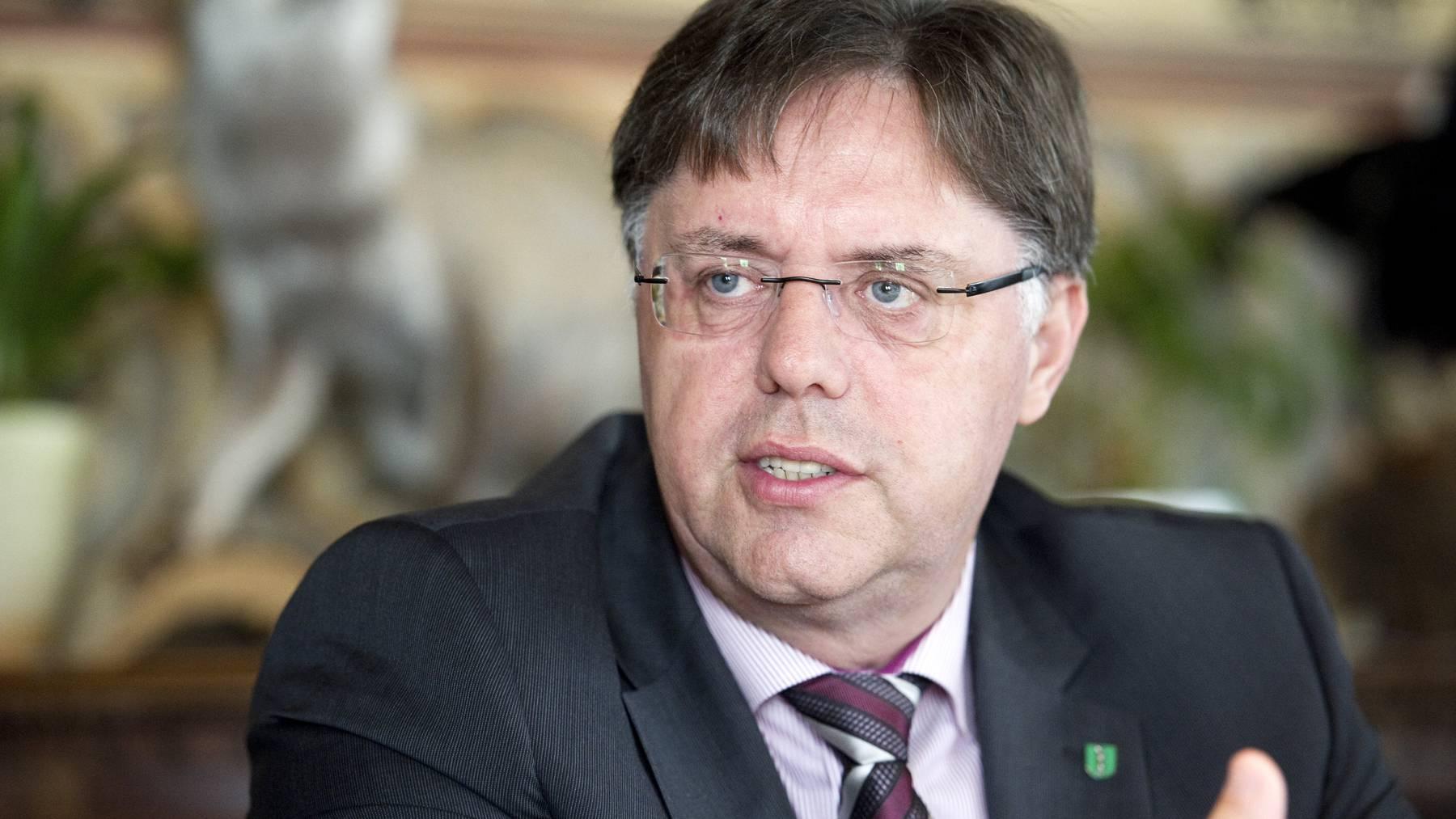 SVP-Mann Herbert Huser wollte im Februar in die St.Galler Regierung.