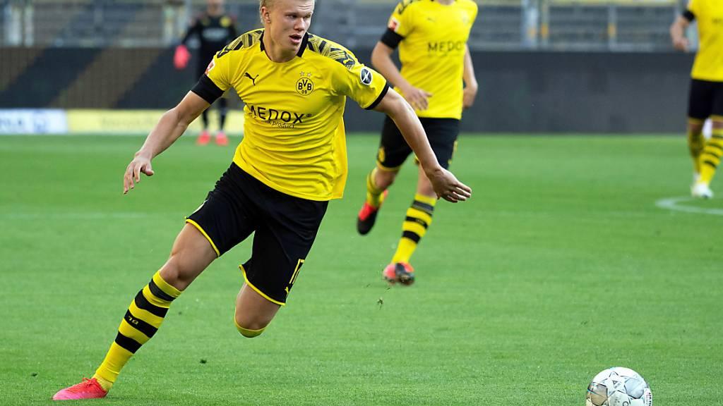 Dortmund am Sonntag wohl ohne Haaland