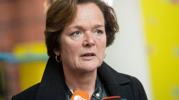 Die FDP-Spitzenkandidatin Anna von Treuenfels am Montag in Hamburg. Sie sicherte sich über ihren Wahlkreis Blankenese ein Mandat.