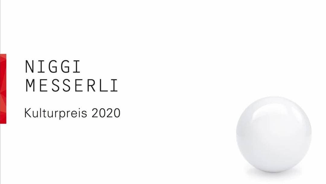 Kulturpreis BL 2020: Der Baselbieter Kulturpreis geht an Niggi Messerli