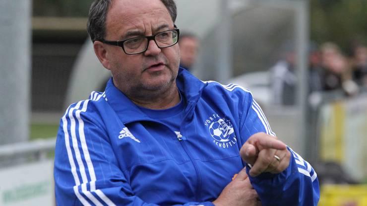SC Schöftland Trainer Jürg Widmer ©Otto Luescher(Umlaut)
