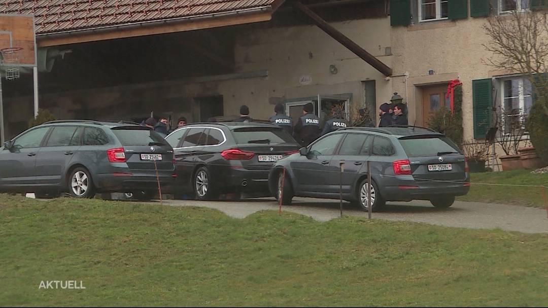 Rüttenen: Polizei verhaftete nach Grossfahndung zwei Einbrecher in Wald