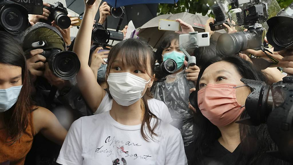 Hongkonger Demokratie-Aktivistin aus Gefängnis entlassen