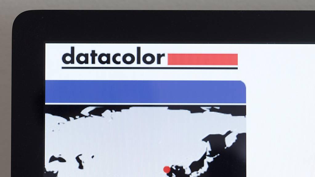 Die Firma Datacolor ist mit einem Gewinn ins Jahr gestartet. (Archivbild)