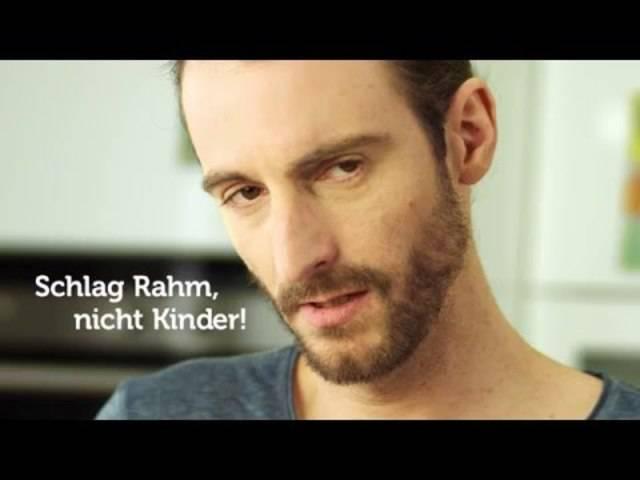 Das Video zum «No Hitting Day 2016»: Schlag Rahm, nicht Kinder!