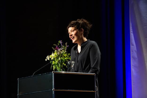Eröffnung 41. Literaturtage Solothurn, im Bild: Reina Gehrig