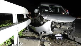 Der betrunkene Polizist wurde beim Unfall nicht verletzt.