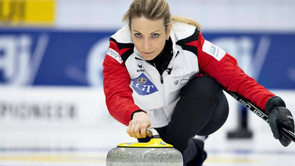 Skip Silvana Tirinzoni hat an der EM bislang alles im Griff.