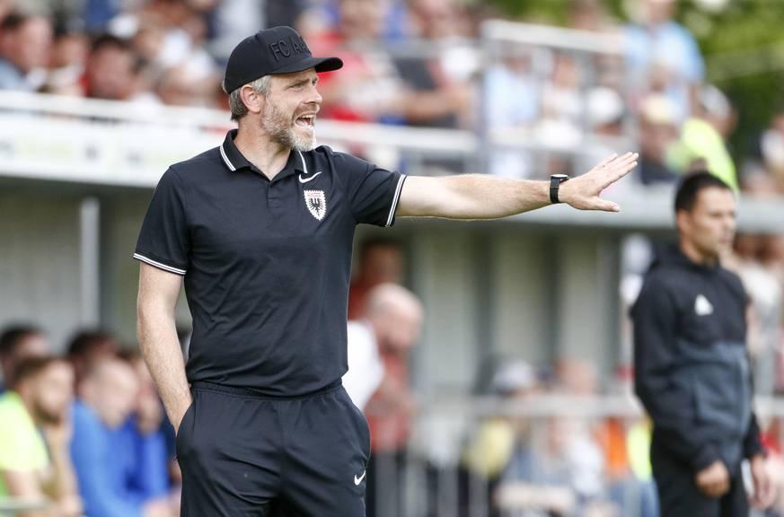 Stephan Keller, hier im Einsatz als Interimstrainer im Frühjahr 2018 - seit heute beerbt der 41-Jährige Patrick Rahmen als Chefcoach