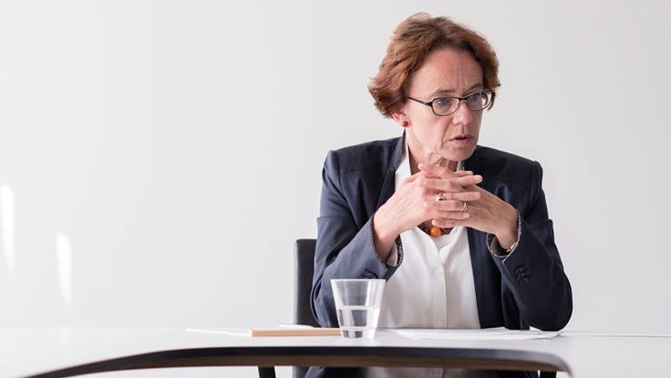 Die Basler Finanzdirektorin Eva Herzog.