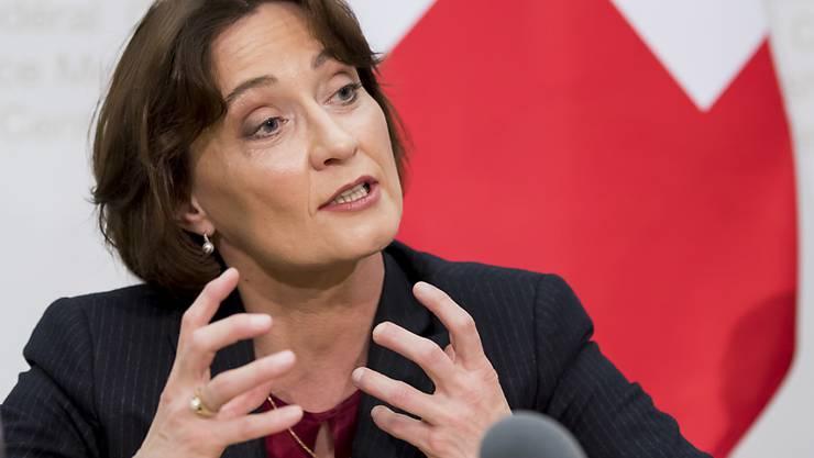 EDA-Staatssekretärin Pascale Baeriswyl protestierte gegenüber der Türkei wegen mutmasslichen Spionage-Aktivitäten in der Schweiz. (Archiv)