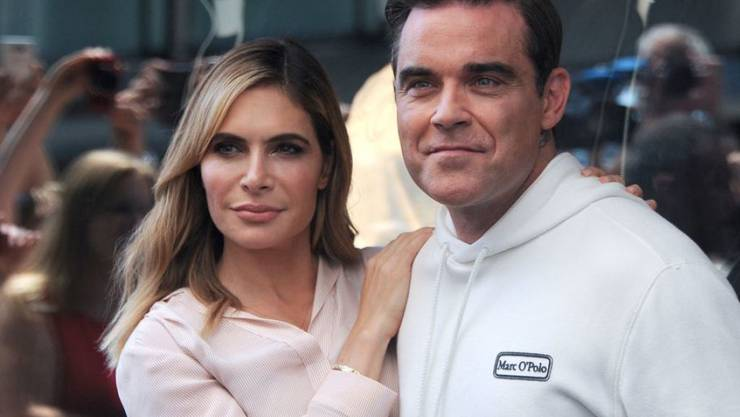 """Robbie Williams und seine Frau Ayda sind das erste Ehepaar, das in die Jury der britischen Casting-Show """"X Factor"""" berufen wurde. (Archivbild)"""