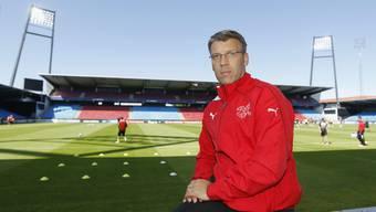 Peter Knäbel ist heute Technischer Direktor beim Schweizer Fussballverband (SFV).