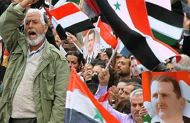 Unruhen in Syrienhalten an