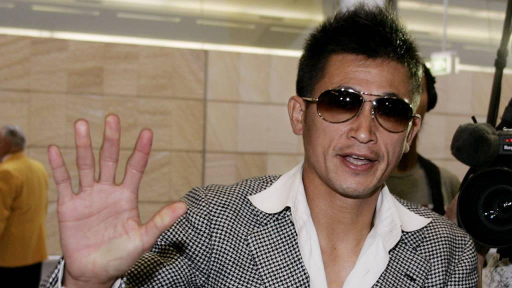 Kazuyoshi Miura auch mit 54 Jahren noch Fussballprofi