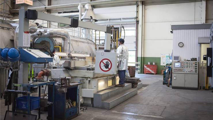 Die Alu Menziken hat in Reinach eine neue Giesserei mit zwei 60-Tonnen-Öfen in Betrieb genommen. psi