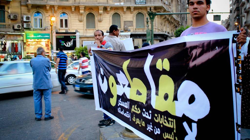 Landesweite Proteste in Ägypten
