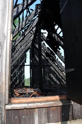 Brand in Hofstetten-Flüh
