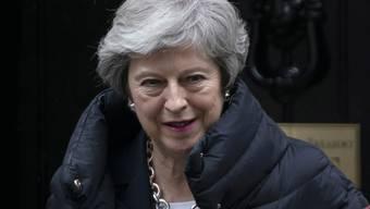 Die britische Premierministerin Theresa May soll am kommenden Mittwoch Klarheit über ihre Pläne für die Zukunft schaffen. (Archivbild)