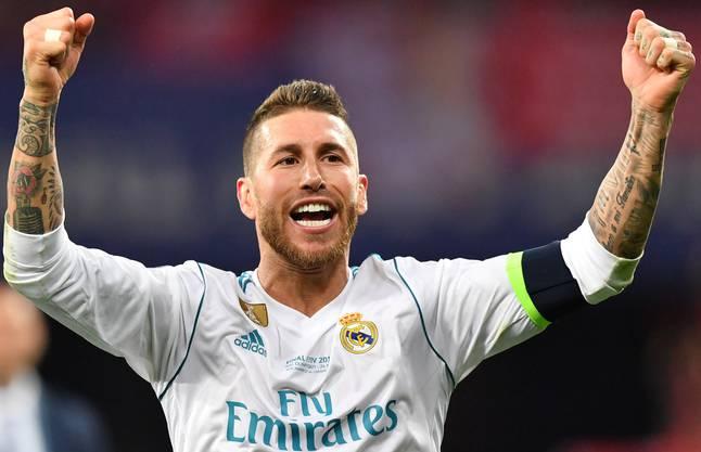 Sergio Ramos: Wenn es für den Erfolg sein muss,tut er dem Gegner weh.