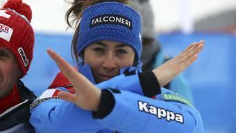 Sofia Goggia verletzte sich bei einem Trainingssturz und kann erst verspätet in die Saison einsteigen