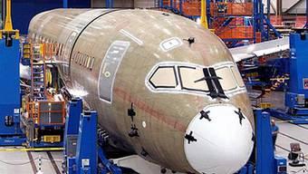 Rumpf der Boeing 787