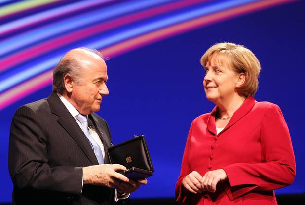 Blatter sagte von sich selbst, dass er bei jedem Staatschef der Welt willkommen sei