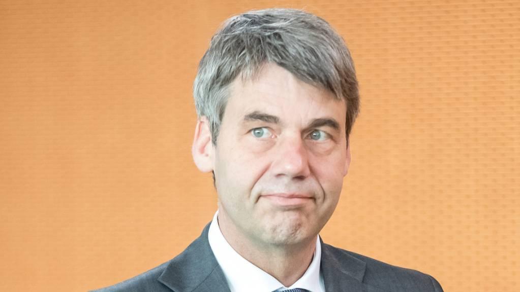Jan Hecker, damals Aussenpolitischer Berater von Bundeskanzlerin Merkel, im Kanzleramt.