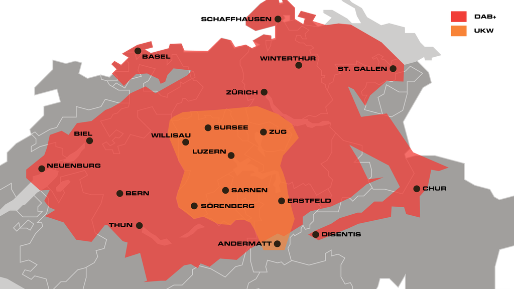 Radio Pilatus in der ganzen Zentralschweiz auf DAB+