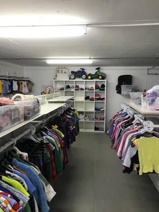 ein kleiner Einblick in die Kinderkleiderbörse Krümelmonster