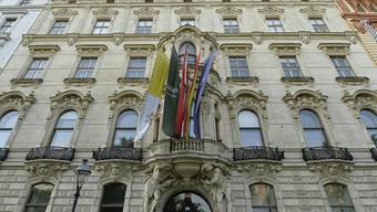 """Ein stattliches Haus: Dem  """"König Abdullah Bin Abdulaziz Zentrum für Interreligiösen und Interkulturellen Dialog"""" (KAICIID) in Wien droht die Schliessung."""