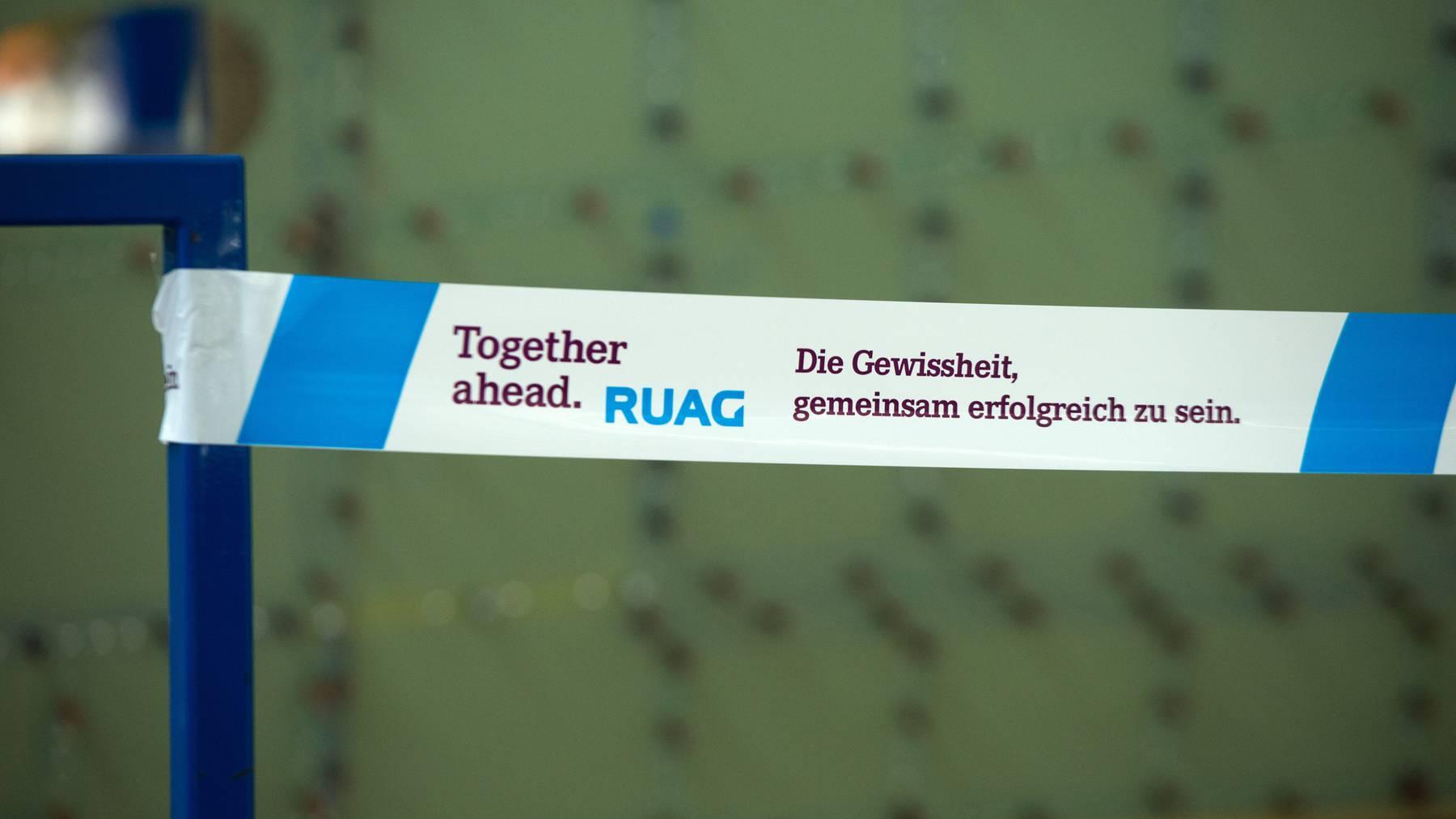 Der Ruag-Konzern wird derzeit komplett umgebaut.