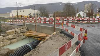 Eines der grossen Bauprojekte der letzten Monate: Die neuen Übergänge beim Bahntrassee