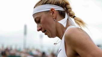 Petra Kvitova spielt in Wimbledon um ihren dritten Titel.